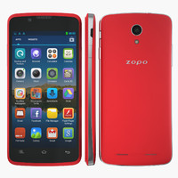 phone zopo zp590 red