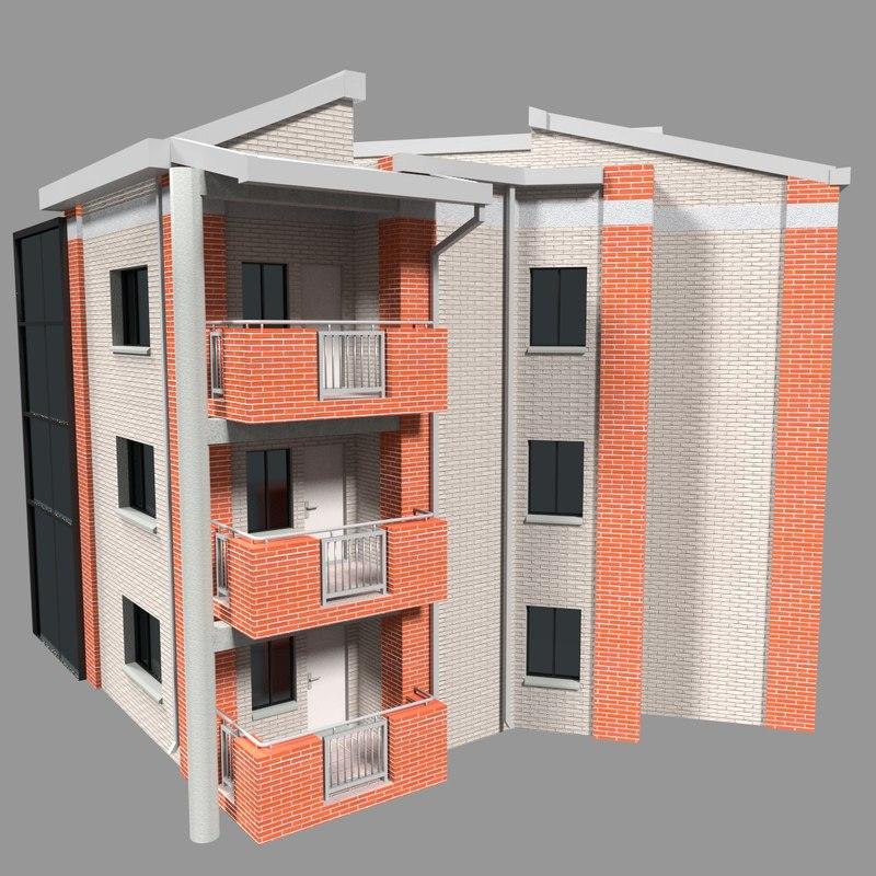 apartment 3d 3ds