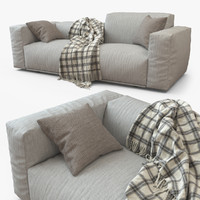 bolton plaid 3d model