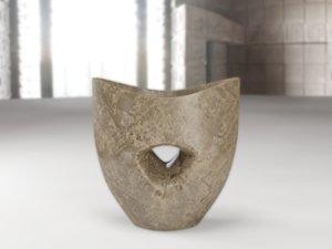 3d model decorative clay pot