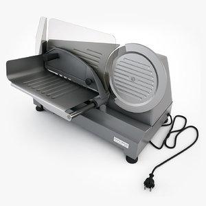 3d model food slicer