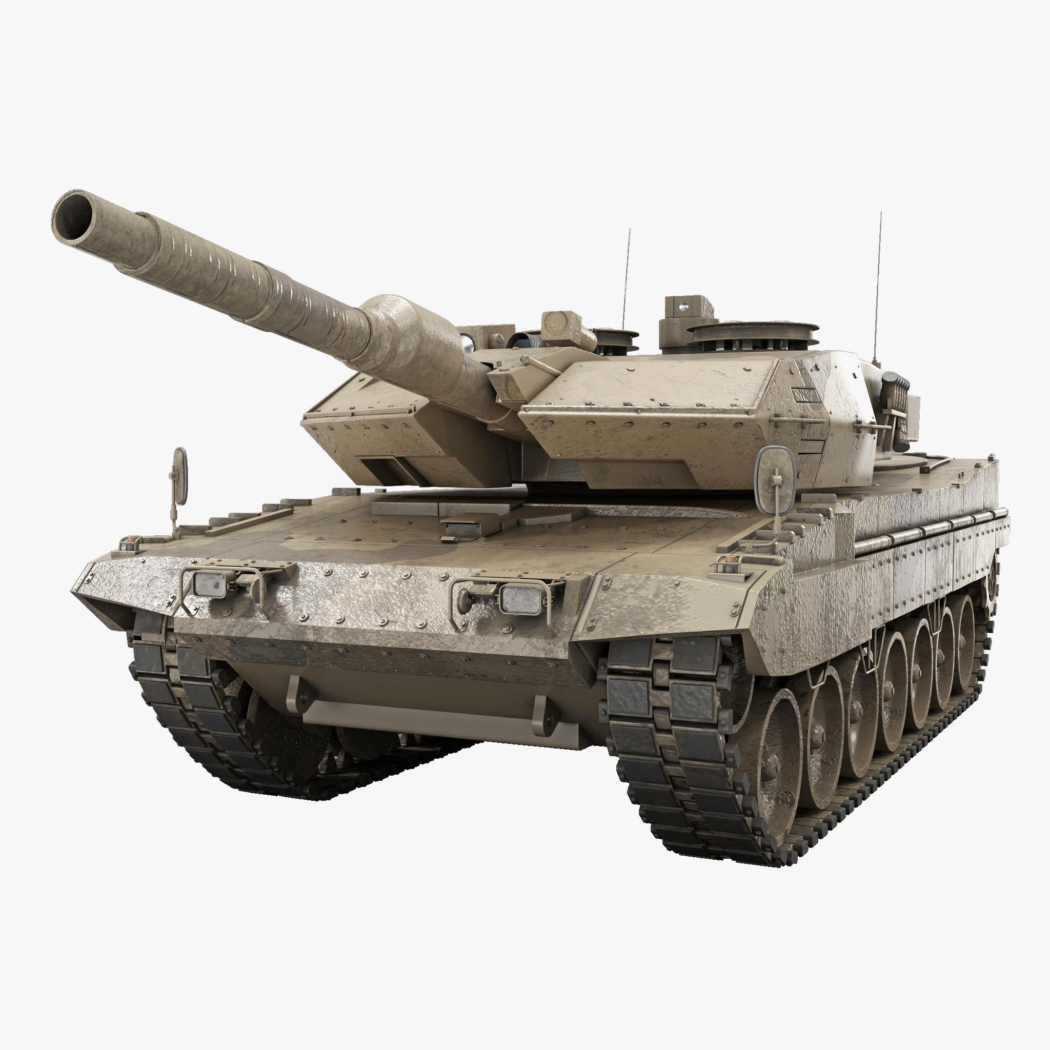 leopard 2 revolution 2a4 3d 3ds