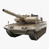 leopard 2 revolution 2a4 3d 3ds