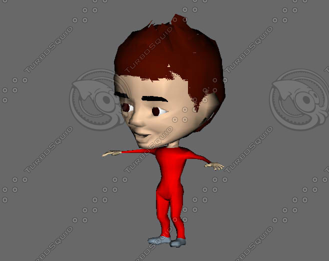 boy cartoon gmax