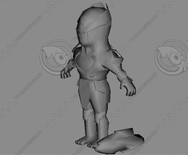 3ds max cartoon toon chitauri avengers