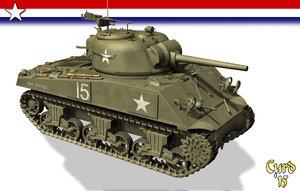 lwo m4a3 tank