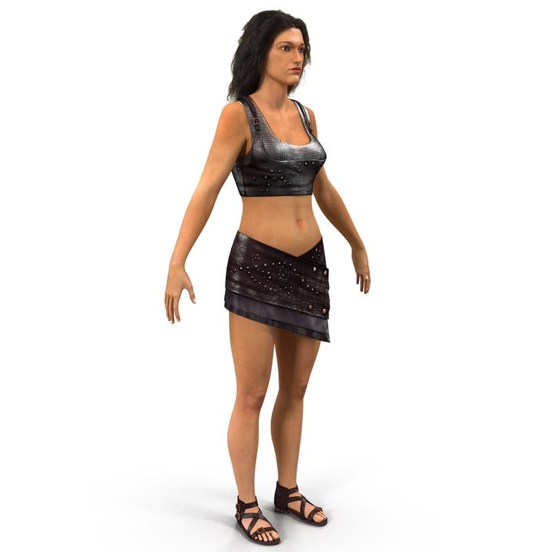 3d girl female fantasy