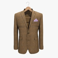 3ds brown jacket 2 coat hanger