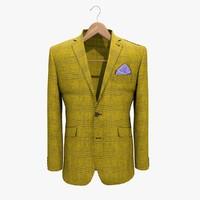 3ds max yellow jacket 2 coat hanger