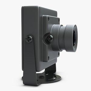 3d model view camera hd 700tvl