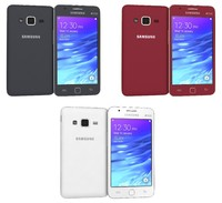 3d model of samsung z1 colors