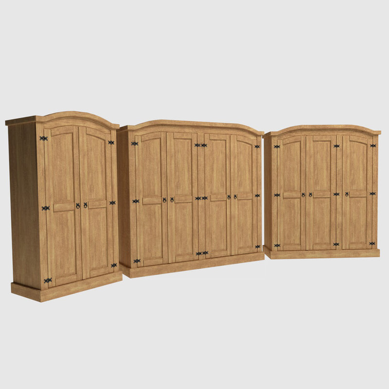 set corona wardrobes 3ds free