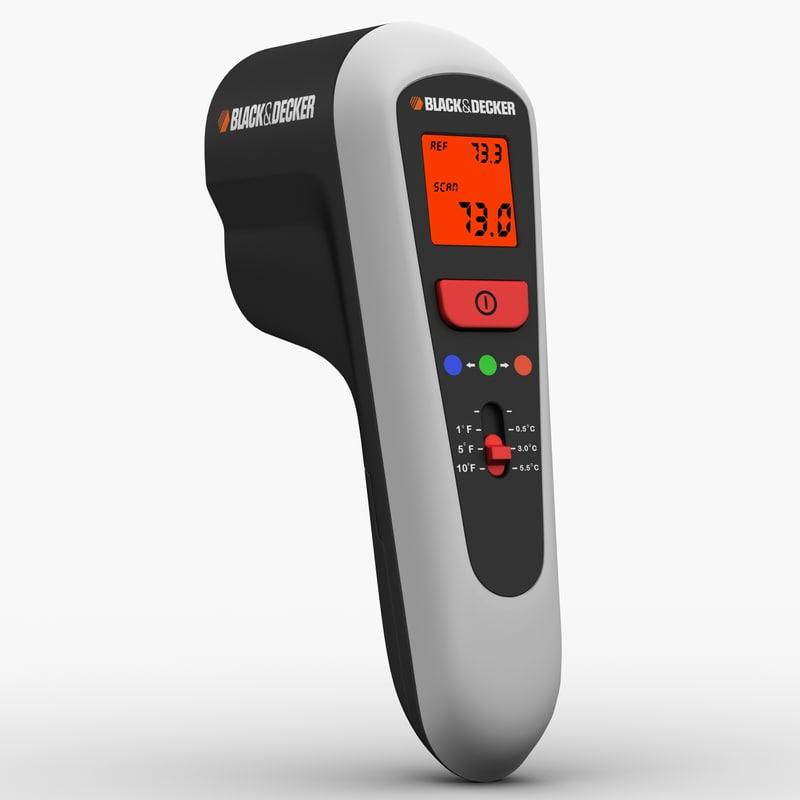 3dsmax thermal leak detector black