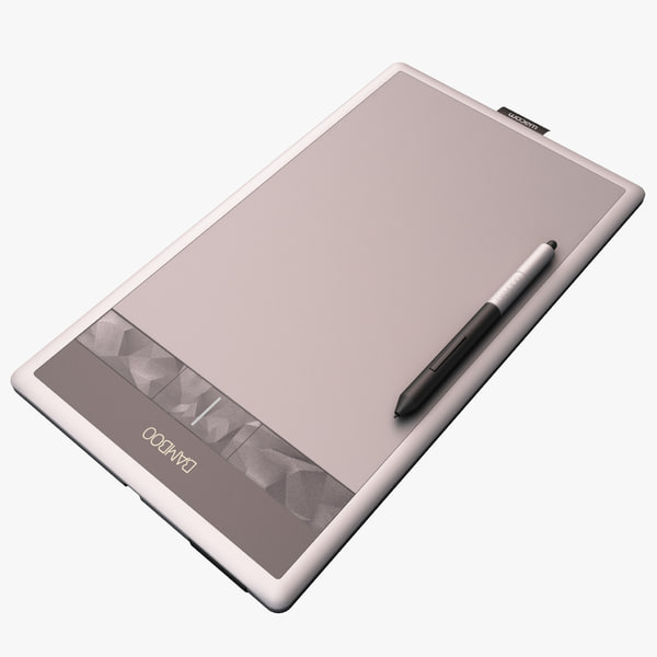 3d 3ds wacom bamboo create pen