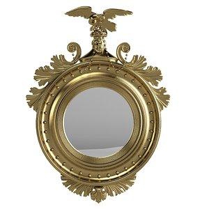 classic girandole mirror 3d max