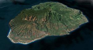 3d mesh island