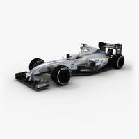 3d williams fw37 2015 1 model