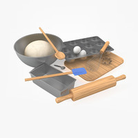 set baking 3d 3ds