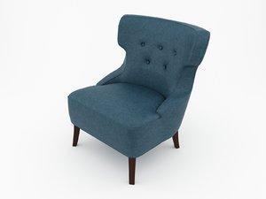 3ds max chair armchair arm