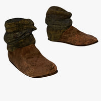 Peasant Half Boots