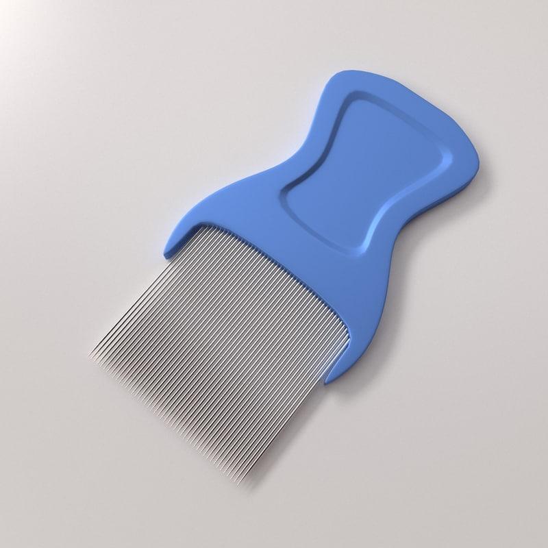 lice comb 3ds