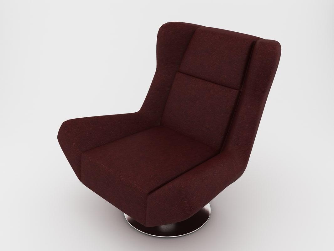3dsmax chair armchair arm