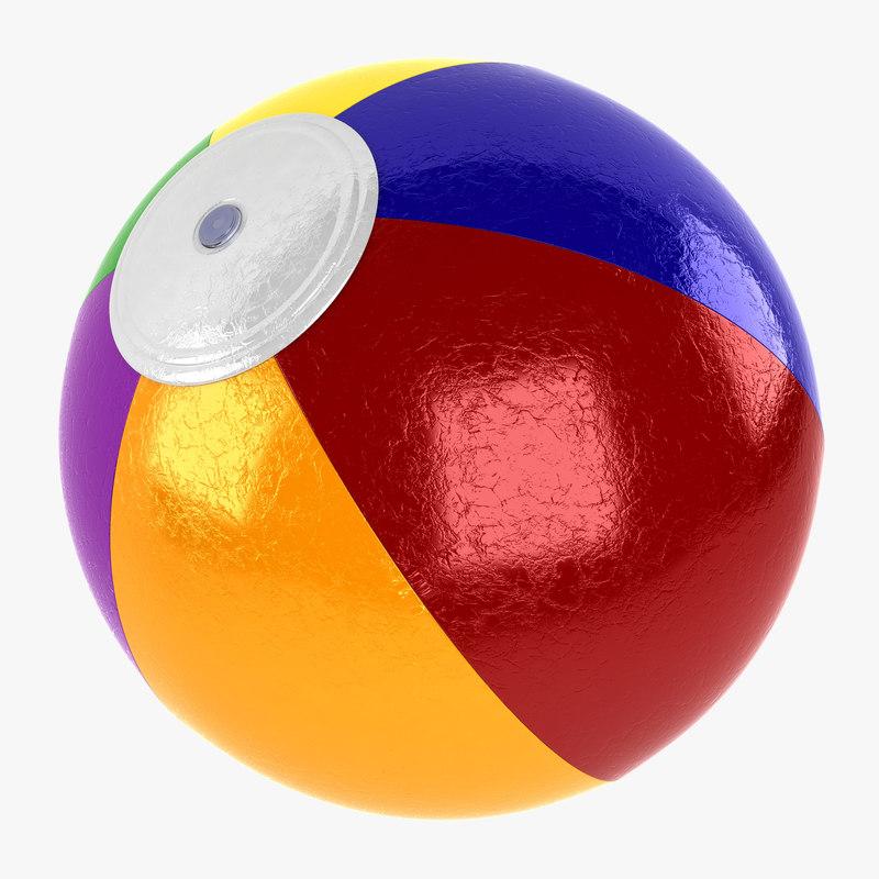 3ds max beach ball