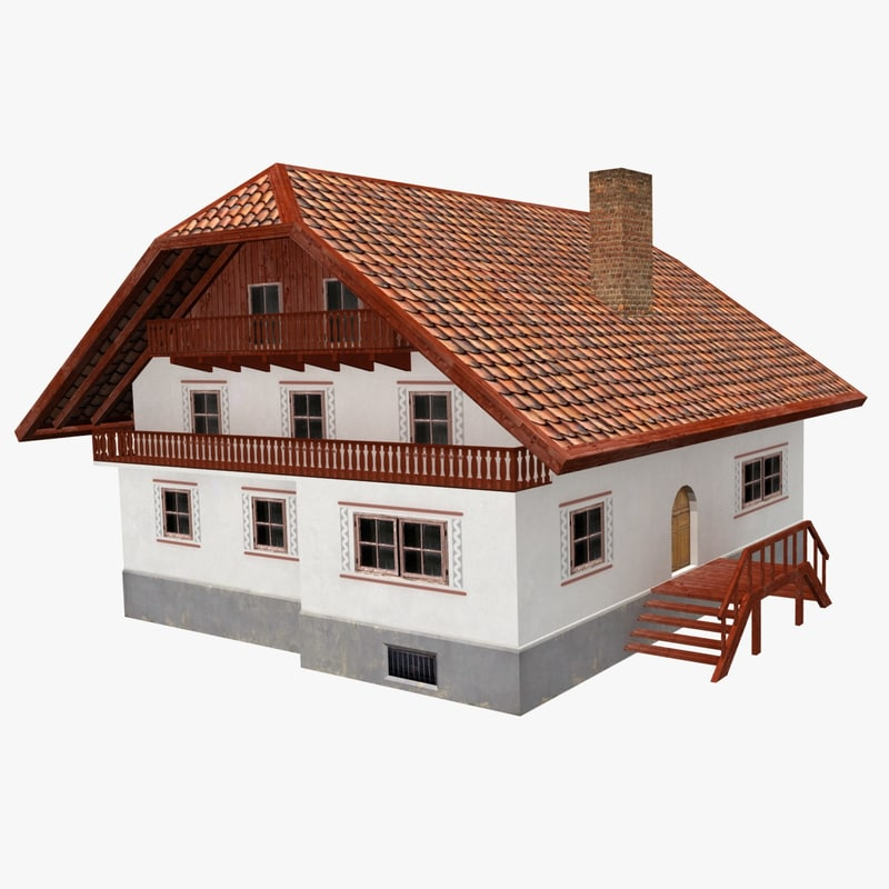 vrml german cottage