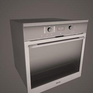 3d miele h6360bp single oven model