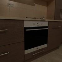 3d model miele h 2161bclst oven