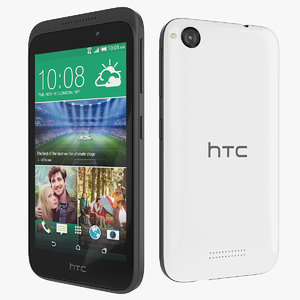 3d model new htc desire 320