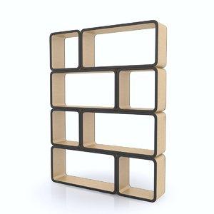 c4d shelf organized