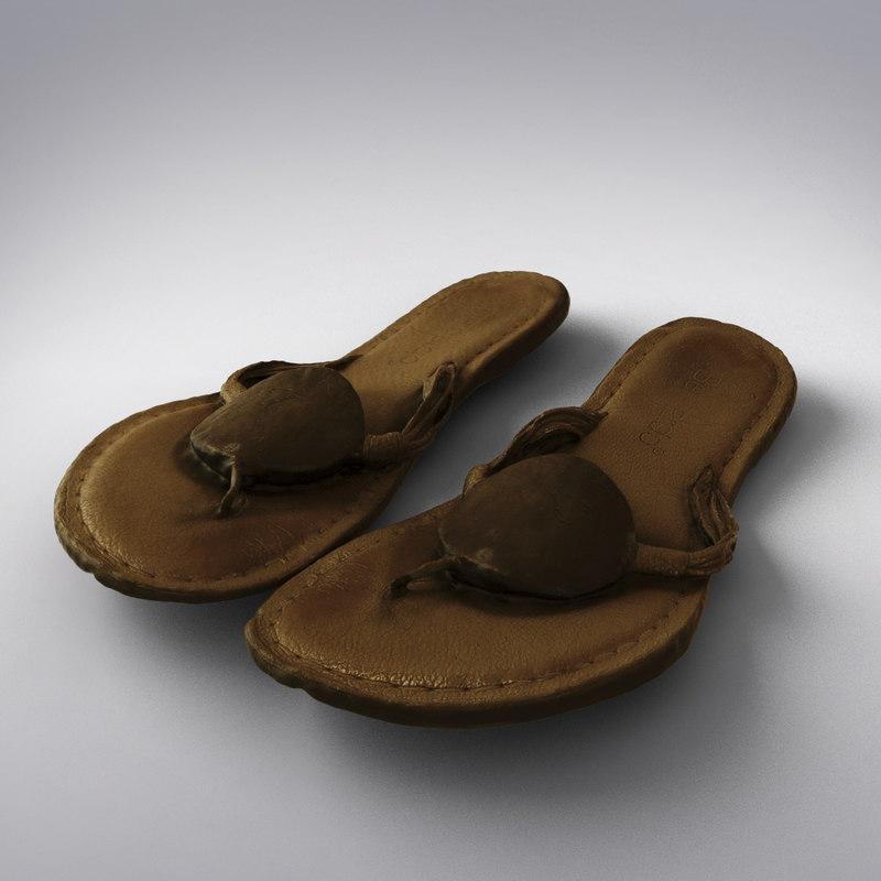 3d bernardo sandals scanning