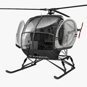 helicopter schweizer 300cbi dirt max