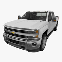 Chevrolet Silverado 3500HD 2015 High Country Pickup Without Interior