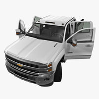 chevrolet silverado 3500hd 2015 3d 3ds