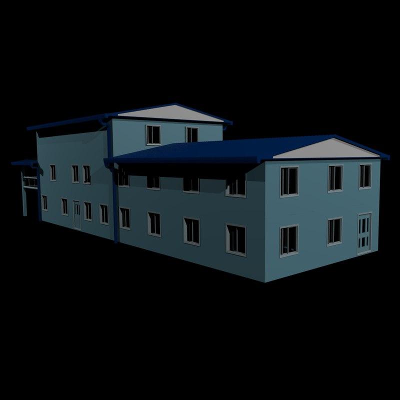 story house apartment 3d model