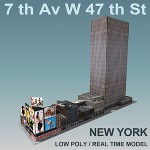 3d new york city ave
