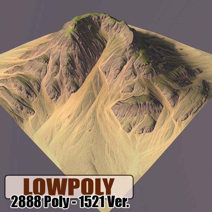 3ds mountain maps terrain