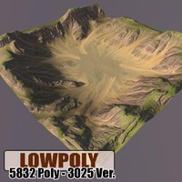 mountain maps terrain 3d 3ds