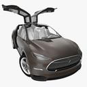 Model X 3D models