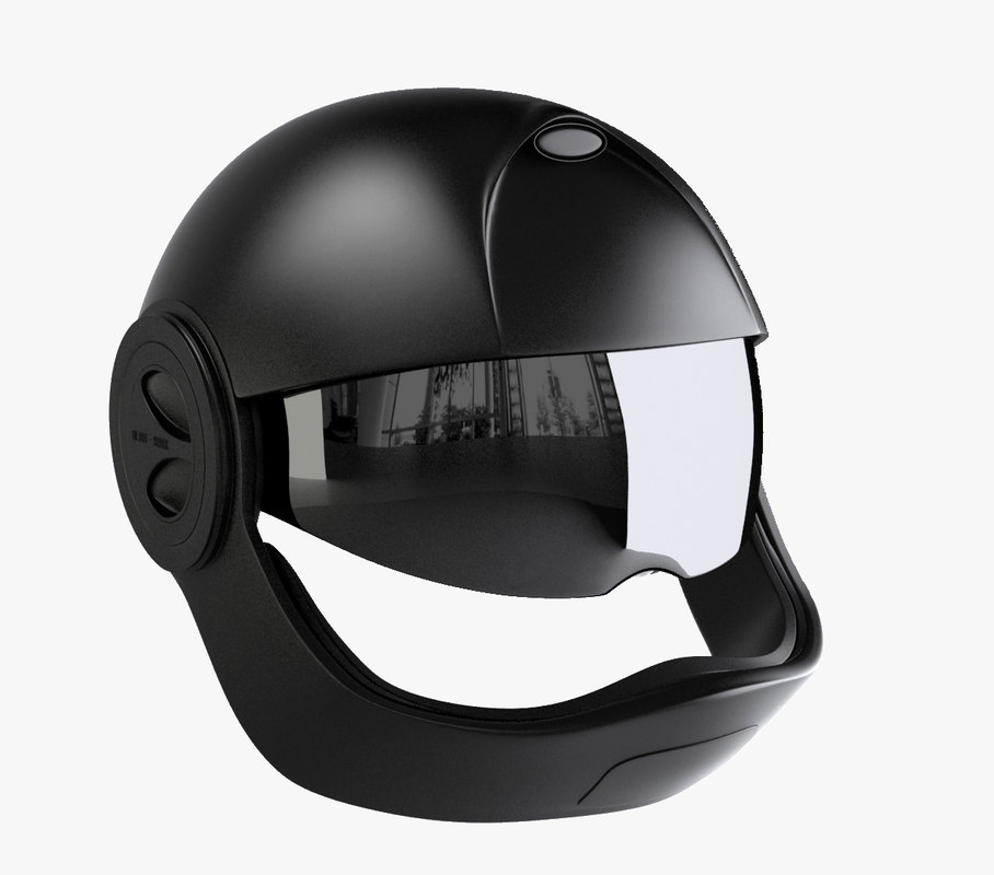 3d helmet vantime shark model