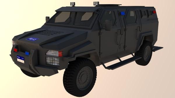 pit-bull vx 3d model
