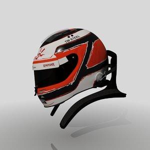 nico hulkenberg 2015 helmet 3d max