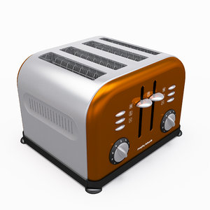 3d model morphy richard toaster