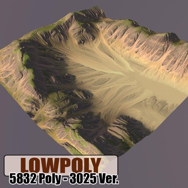 mountain maps terrain blend