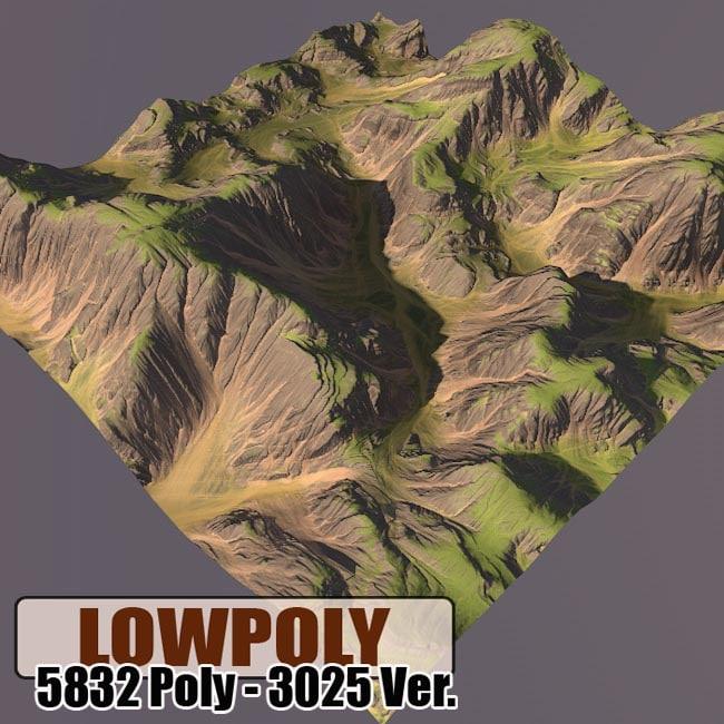 mountain maps terrain max
