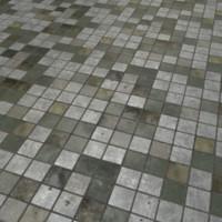 Grunge Brick Floor