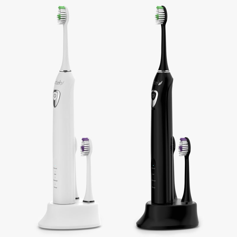3d model realistic electric toothbrush
