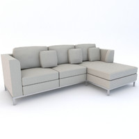 beliani sofa 3d 3ds